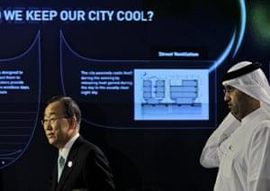 Masdar City: UN Secretary General Ban Ki-Moon
