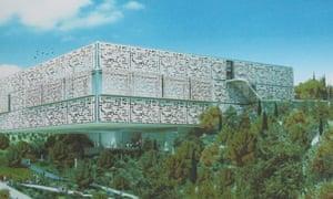 Artist's impression of new gallery at Umm al-Fahm