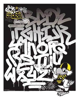 Street Fonts graffiti alphabets | Art and design | The Guardian