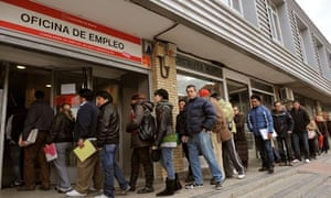 Spanish Job Centers as Spain Meets Deficit Goal