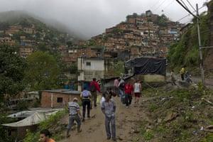 Venezuela Caracas : Shanty town La Vega in Caracas, Venezuela