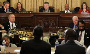 Peter King chairs congressional hearings on the radicalisation of US Muslims
