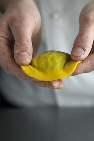 How to make ravioli: Raymond Blanc ravioli 6