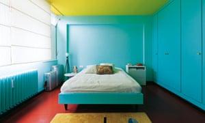 German apartment: bedroom
