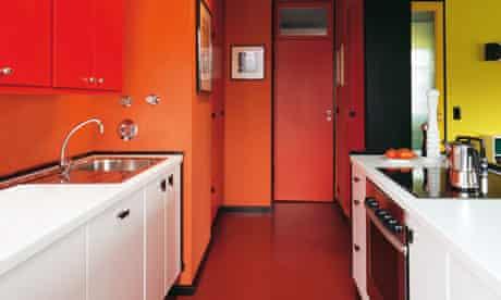 German apartment: kitchen