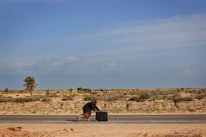 Ras Jdir Refugees: Refugees Cross Tunisian Border To Escape Violence in Libya