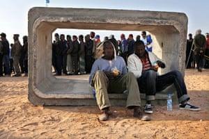 Ras Jdir Refugees: Tunisia Libya Refugees