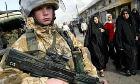 "A young British soldier. Photograph: Shawn Baldwin/EPA. Courtesy of <a href=""https://www.theguardian.com/commentisfree/2011/mar/11/britain-child-soldiers-army"" target=""_blank"">The Guardian</a>"