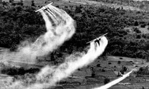 Agent Orange spraying in Vietnam