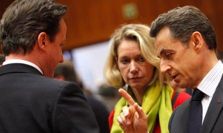 David Cameron, Nicolas Sarkozy
