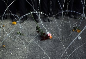 24 Hours in Pictures: Bahrain protest