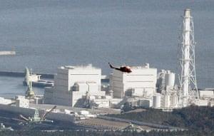 Japan - the day after: Fukushima Daiichi No.1 Nuclear reactor