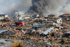 Japan - the day after: Kisenuma devastation