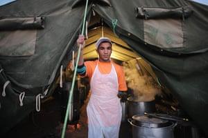 24 Hours in Pictures: Volunteer Chef
