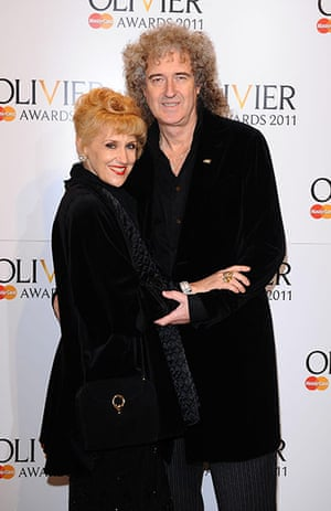 Olivier awards arrivals :  Olivier awards arrivals 2011