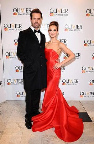 Olivier awards arrivals :  Olivier awards arrivals