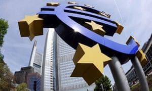 euro symbol ECB Frankfurt