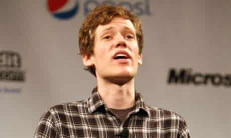4Chan's Christopher Poole delivers a keynote speech at the 2011 SXSW festival