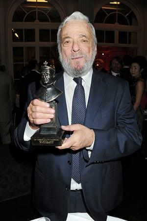 Olivier awards: Stephen Sondheim at the Olivier awards 2011