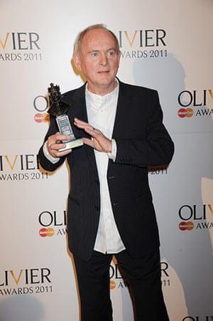 Olivier awards: Howard Davies at the Olivier awards 2011