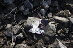 Dan Chung in Japan: A photograph in the rubble