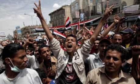 Yemen demonstrations