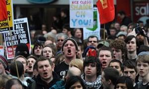 Protests at Liberal Democrats' spring conference
