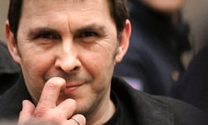 Arnaldo Otegi, leader of banned Basque r
