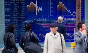 Japan's stocks plunge