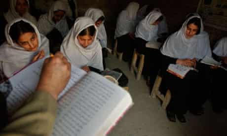 Afghanistan schoolgirls