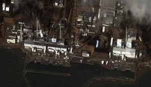 Japan Earthquake: the Fukushima Dai-ichi nuclear power plant complex accident
