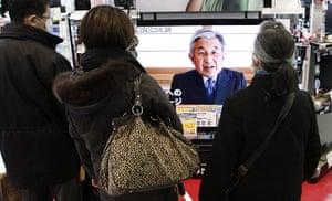 Japan Earthquake: Emperor Akihito's televised address