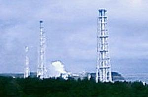 Japan Earthquake:  No. 1 unit of the Fukushima Dai-ichi nuclear complex