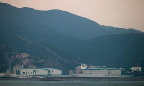 Chinese nuclear power plant