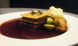 Braised turnip galette