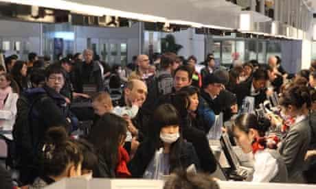 Tokyo's Haneda International Airport 16 Mar 2011