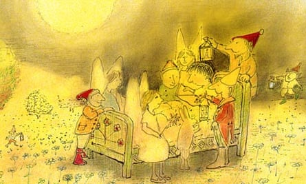 Illustration by John Burningham from The Magic Bed