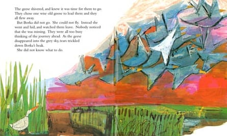 Illustration by John Burningham from Borka