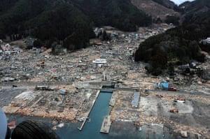 Japan aftermath: The destruction in Wakuya, Miyagi Prefecture