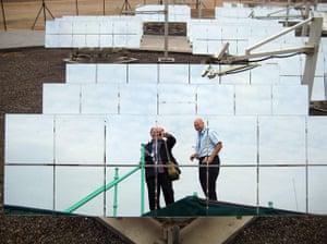 Masdar: UEA new sustainable town : John Vidal and Ben Webster