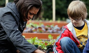 Michelle Obama to write gardening book | US news | The Guardian