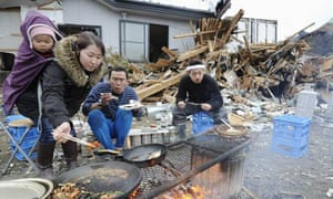 japan earthquake cook