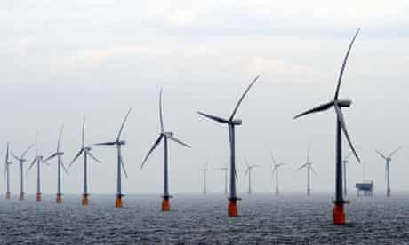 Thanet wind farm 23/9/2010