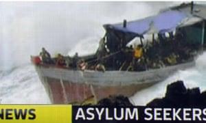 Asylum seekers shipwreck Australia