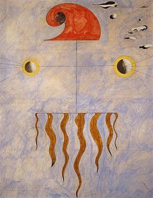 Joan Miró : Head of a Catalan Peasant, 1925
