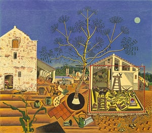 Joan Miró : The Farm, 1921-2