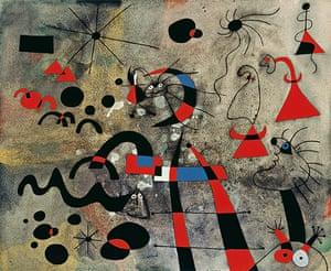 Joan Miró : The Escape Ladder, 1940