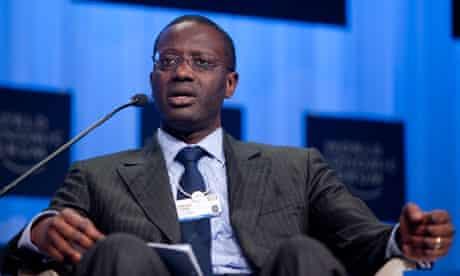 Tidjane Thiam faces investor revolt over bonus