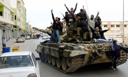 Gaddafi's forces moved against Benghazi