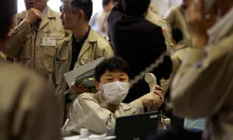 Nuclear specialists in Japan